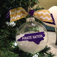 ECU christmas ornament