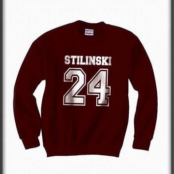 Stilinski 24 teen wolf beacon hills lacrosse Unisex Crewneck Sweatshirt S to 3XL