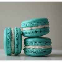 Tiffany Blue French Macarons