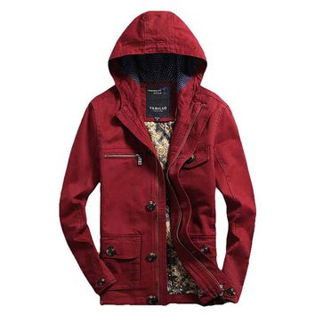 The Fillmore Coat Red