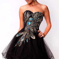 Phoenix Short Homecoming Dress Wedding Bridal Dresses Prom Party Gown