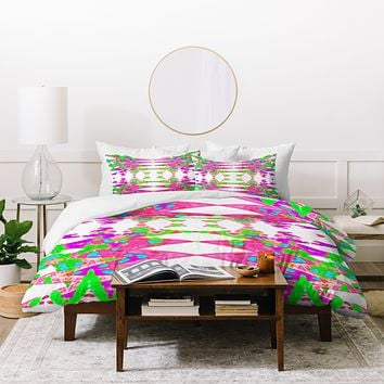 Ingrid Padilla Color Wave Duvet Cover