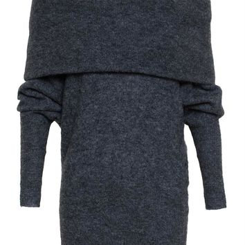 Off Shoulder Mohair Jumper - ACNE STUDIOS