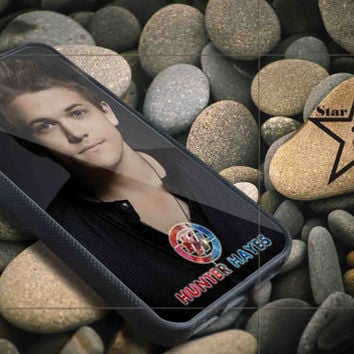 hunter hayes iPhone Case, iPhone 4/4S, 5/5S, 5c, Samsung S3, S4 Case, Hard Plastic and Rubber Case By Dsign Star 08