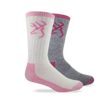 Browning Women's Hewvyweight Wool Blend Sock