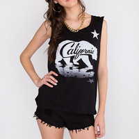 Farewell California Muscle Tee