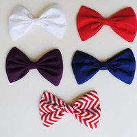 Multicolored Hair Bows Hair Accessories
