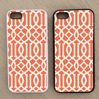 Geometric Pattern Lattice Weave Pattern iPhone Case, iPhone 5 Case, iPhone 4S Case, iPhone 4 Case - SKU: 201