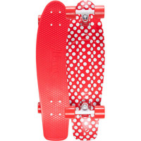 Penny Polka Nickel Skateboard Red/White One Size For Men 23403392701