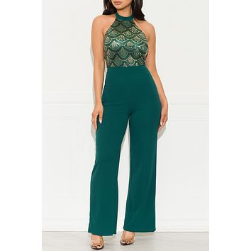 What I Need Jumpsuit Green