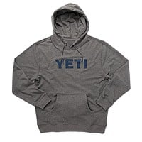 Logo Hoodie Pullover in Heather Grey by YETI - FINAL SALE