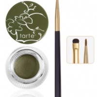 Amazonian clay waterproof liner with double-ended brush in green