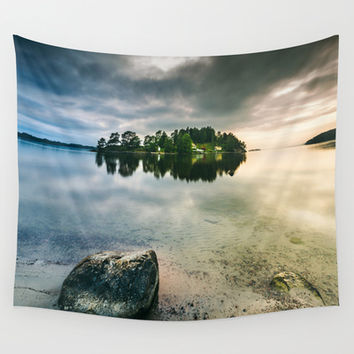 Serenity II Wall Tapestry by HappyMelvin
