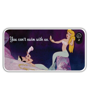 Neverland Mermaid Lagoon Cell Phone Case Cover Apple iPhone 4 4S 5 5S Samsung Galaxy S3 S4 Peter Pan Mean Girls Mermaids Disney