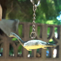 Keychain Dinosaur Elasmosaurus Free Shipping  Great Stocking Stuffer