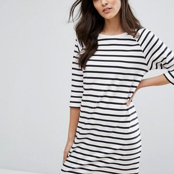 Selected Femme - Robe à rayures at asos.com