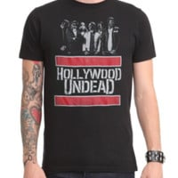 Hollywood Undead Red Bars T-Shirt