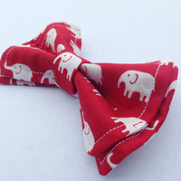 Elephant On Red Bow Tie, Doctor Who Baby, Bow Tie, Bow Ties Toddler, Newborn Bow Tie, Doctor Who, Bowtie, Boys Bow Tie