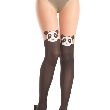 Be Wicked Pantyhose Panda