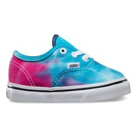 Vans ToddlersTie Dye Authentic (pink/blue)