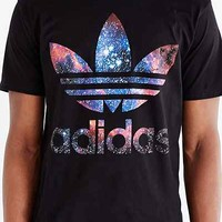 adidas Originals Galaxy Trefoil Tee - Urban Outfitters