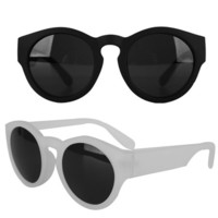 Round Fashion Sunglasses | FashionShop【STYLENANDA】