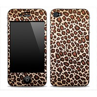 Vector Leopard Animal Print Skin for the iPhone 3gs, 4/4s, 5, 5s or 5c