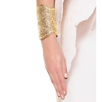 VINTAGE LACE GOLD-PLATED CUFF