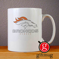 Denver Broncos Ceramic Coffee Mugs