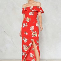 Like a Flower Floral Dress