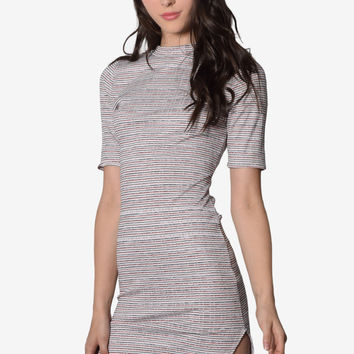 80d37fe8d3 A Little Ribbing Crossback Dress from GoJane