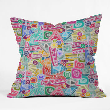 Sharon Turner Precious Throw Pillow