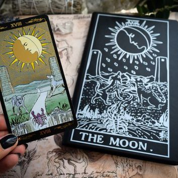 Book of Shadows,Sketchbook,Notebook - The Moon Arcana