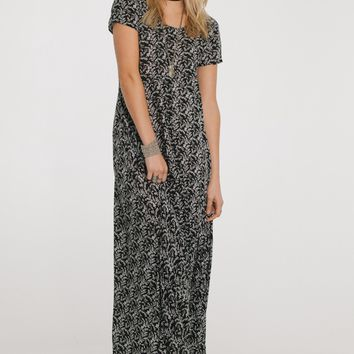 Button Down Boho Maxi Dress