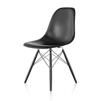 Herman Miller Eames® Molded Wood Side Chair - Dowel Base
