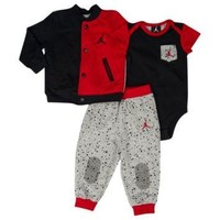 Jordan Varsity Creeper Pant Set - Boys' Infant at Kids Foot Locker