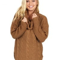 Note To Self Sweater in Mocha | Monday Dress Boutique