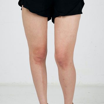 Side Tulip Casual Shorts