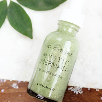 Mermaid Shimmer Water | Light Body Shimmer | Natural + vegan