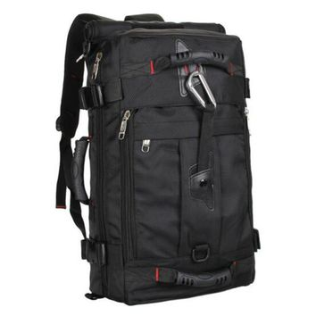 Men's bags new nylon black backpack mochila notebook laptop high grade large capacity backpack fashion leisure laptop bag