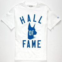 Hall Of Fame Hall Of Dawgs Mens T-Shirt White  In Sizes