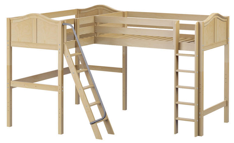 Perdue Twin Twin Corner Loft Bed From Totally Kids Fun