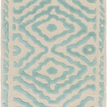 Surya ATS1004 Atlas Blue Rectangle Area Rug