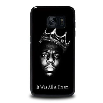 notorious big samsung galaxy s7 edge case cover  number 1