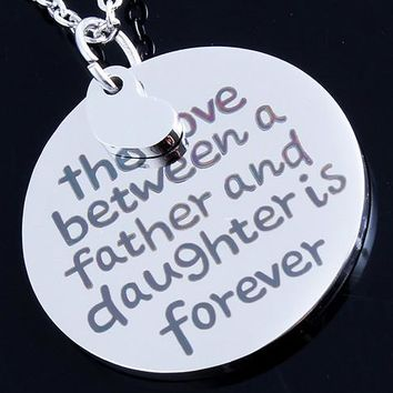Father's Love Necklace - Amazing Father's Day Gift (5 Choice)