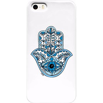 ROCA Blue Hamsa Phone Case