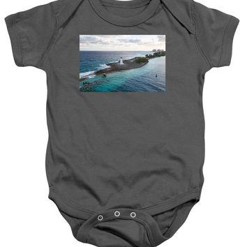 Hog Island Lighthouse - Baby Onesuit