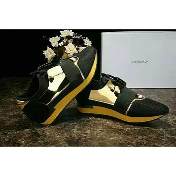 shosouvenir  BALENCIAGA  yellow fashion casual shoes