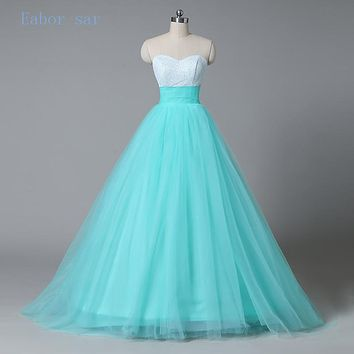 Mint Green  Sequins Beaded Sweetheart Bodice Corset Mint Quinceanera Dresses  2017 Sparkly Pageant Dress