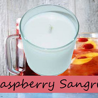 Raspberry Sangria Scented Candle in Tumbler 13 oz